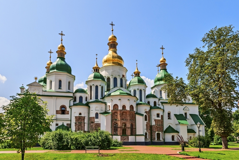 Saint Sophia Cathedral, Kyiv. 5 reasons to visit Ukraine