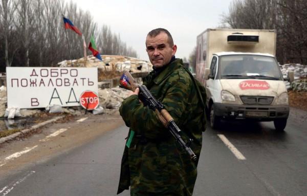 Donetsk terrorist, Ukraine